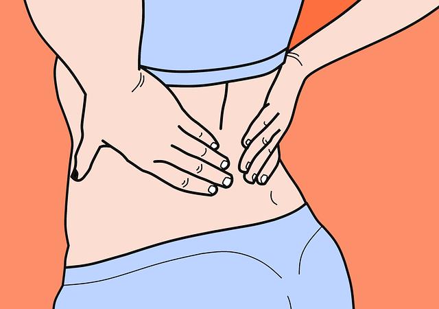 mal de dos et problèmes urinaires