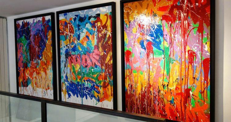 L'art contemporain et le monde de la restauration ?