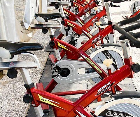vélo d'appartement Tecktake